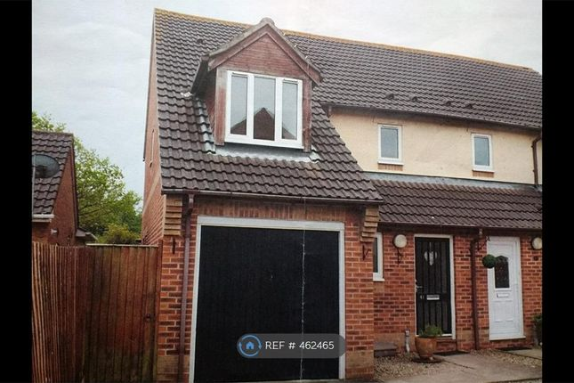 Thumbnail Semi-detached house to rent in The Swallows, Weston-Super-Mare