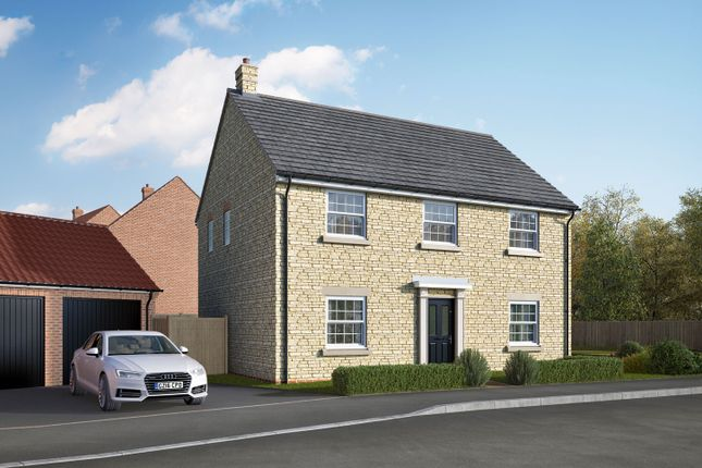 "Thumbnail Detached house for sale in ""The Byrne"" at Uffington Road, Barnack, Stamford"
