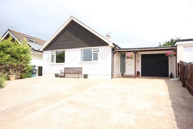 Thumbnail Detached bungalow for sale in The Roundway, Kingskerswell, Newton Abbot