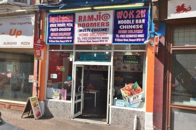 Thumbnail Restaurant/cafe for sale in 10 Skinner Street, Newport