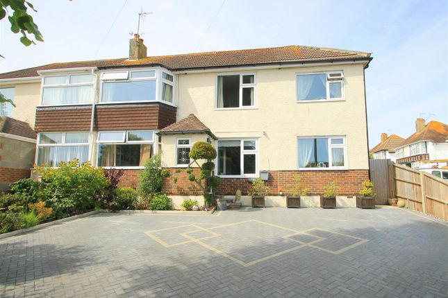 Thumbnail Semi-detached house for sale in Fircroft Avenue, Lancing