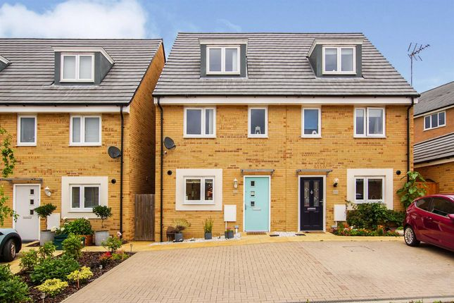 Semi-detached house for sale in Columbine Road, Emersons Green, Bristol