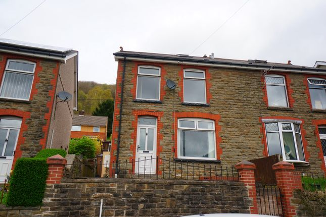 Thumbnail Semi-detached house for sale in Park Street, Cwmcarn, Newport