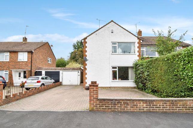 Thumbnail Semi-detached house for sale in Hever Road, Hever, Edenbridge