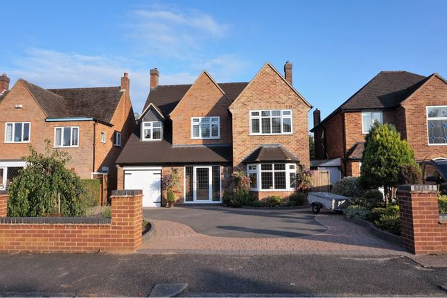 Thumbnail Detached house for sale in Yewhurst Road, Solihull