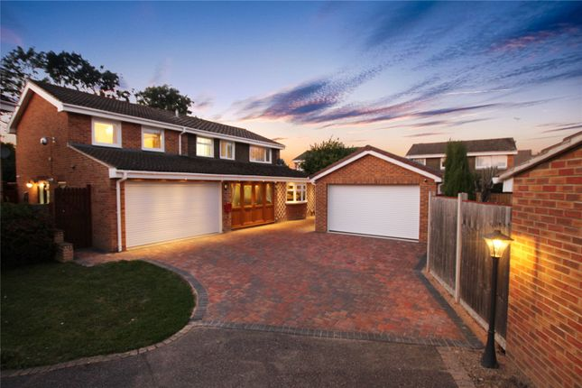 Thumbnail Detached house for sale in Fairlawn, Liden, Swindon, Wiltshire