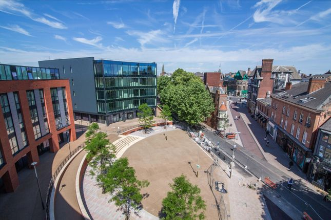 Thumbnail Flat to rent in King Street, Leicester