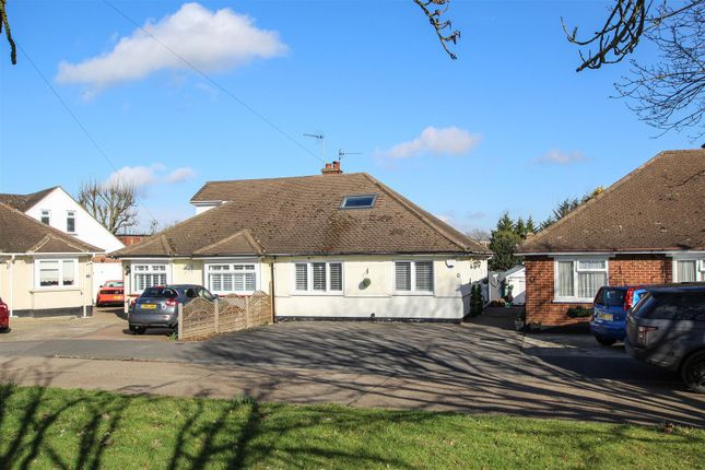 Thumbnail Semi-detached bungalow for sale in Pilgrims Hatch, Catherine Close, Brentwood