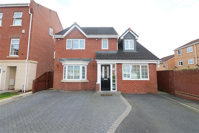 Thumbnail Detached house for sale in Lowry Gardens, Carlisle, Cumbria