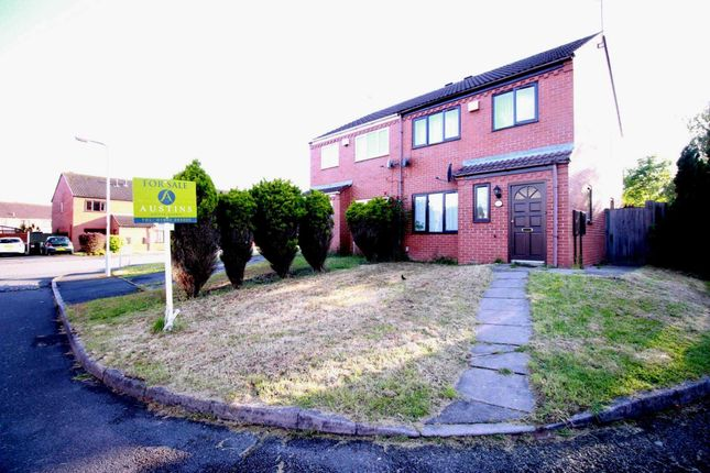 Thumbnail Semi-detached house for sale in Aster Walk, Pendeford, Wolverhampton