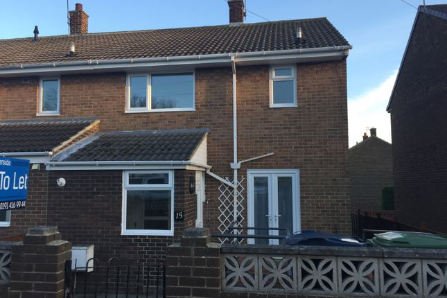 Thumbnail End terrace house to rent in St Michaels, Houghton Le Spring