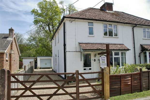Thumbnail Semi-detached house for sale in Copse Road, Burley, Ringwood