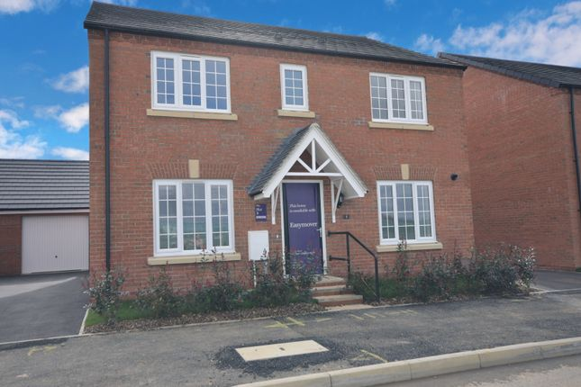 Thumbnail Detached house for sale in Leicester Road, Market Harborough