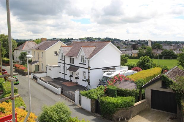 Thumbnail Detached house for sale in Longacre Road, Carmarthen, Carmarthenshire