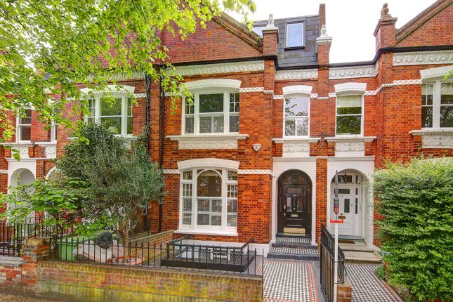 Thumbnail Terraced house to rent in Chipstead Street, Parsons Green, Fulham, London