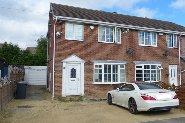 Thumbnail Semi-detached house for sale in Wellhouse Close, Mirfield, West Yorkshire.