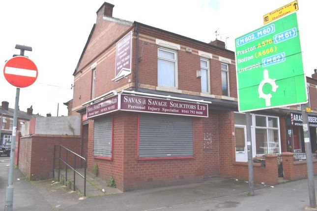 Thumbnail Retail premises for sale in 158 Cromwell Road, Salford Manchester