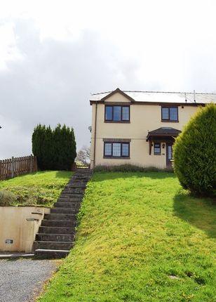 Thumbnail Semi-detached house to rent in Cae Idris, Uwch Y Maes, Dolgellau