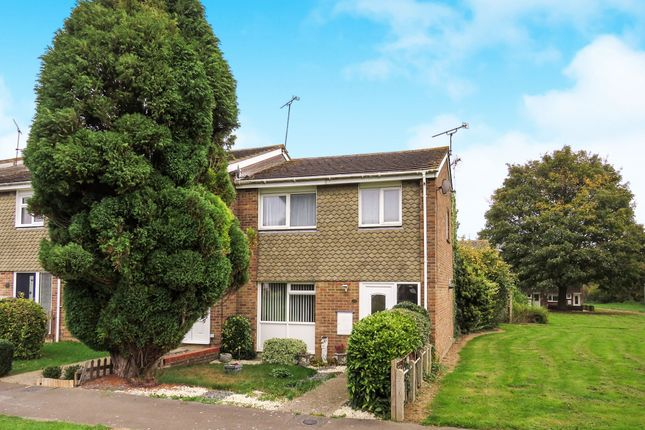 Thumbnail End terrace house for sale in Teign Drive, Witham