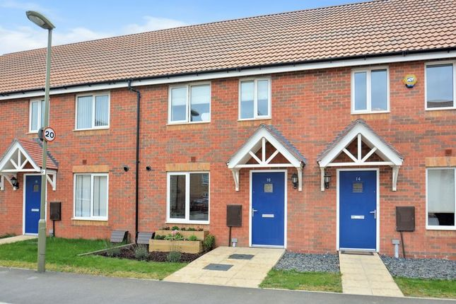 Thumbnail 2 bed terraced house for sale in Orchid Mews, Harwell, Didcot