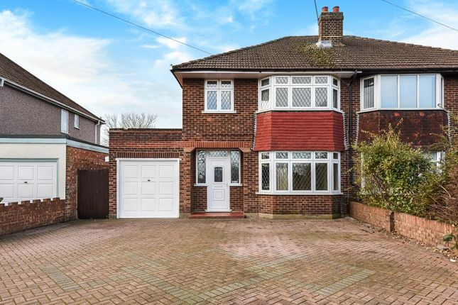 Thumbnail Semi-detached house to rent in Vicarage Road, Sunbury On Thames