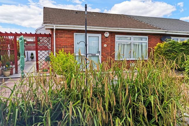 Thumbnail Semi-detached bungalow for sale in St. Donats Close, Castle Park, Merthyr Tydfil