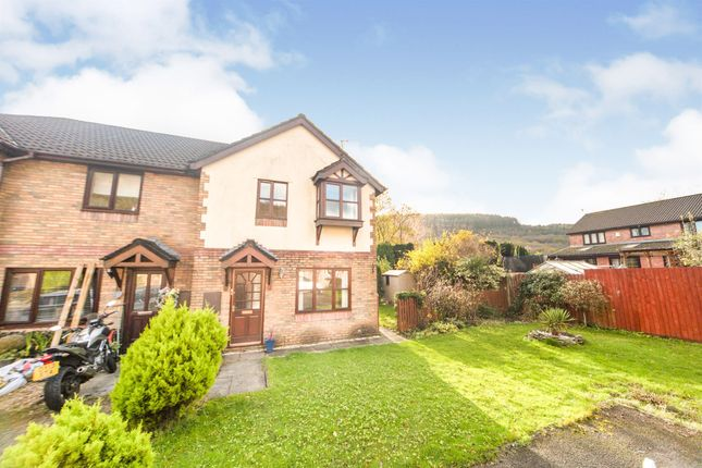 Thumbnail Semi-detached house for sale in Ty Mawr Parc, Hopkinstown, Pontypridd