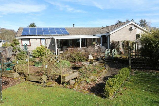 Thumbnail Detached bungalow for sale in Fergusson View, West Linton