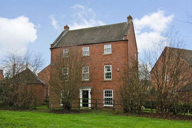 Thumbnail Detached house for sale in Walnut Walk, Dawin Park, Lichfield
