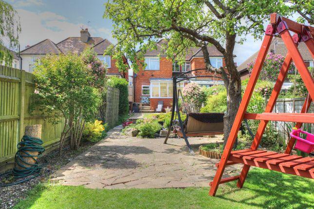 Garden of Brodrick Road, Eastbourne BN22