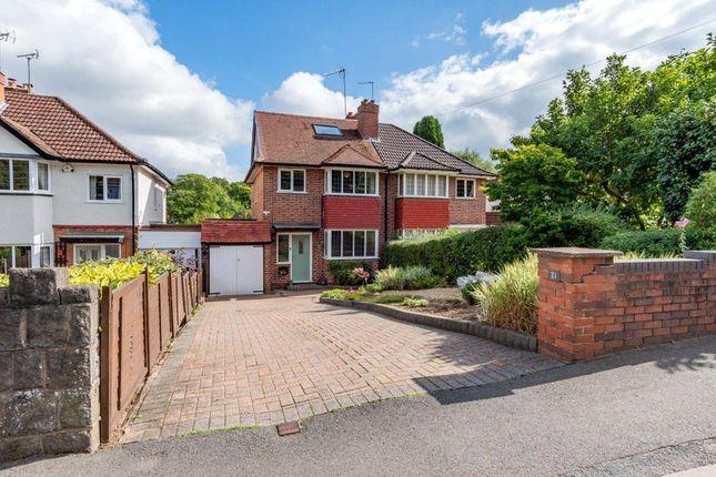 Thumbnail Detached house for sale in Barnt Green Road, Cofton Hackett, Birmingham