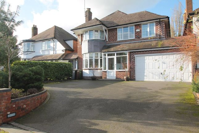 Thumbnail Link-detached house for sale in Manor Road, Solihull