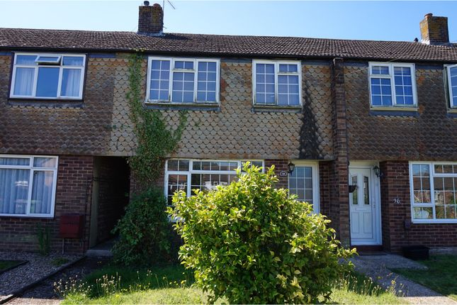 Thumbnail Terraced house for sale in Long Close Road, Hedge End