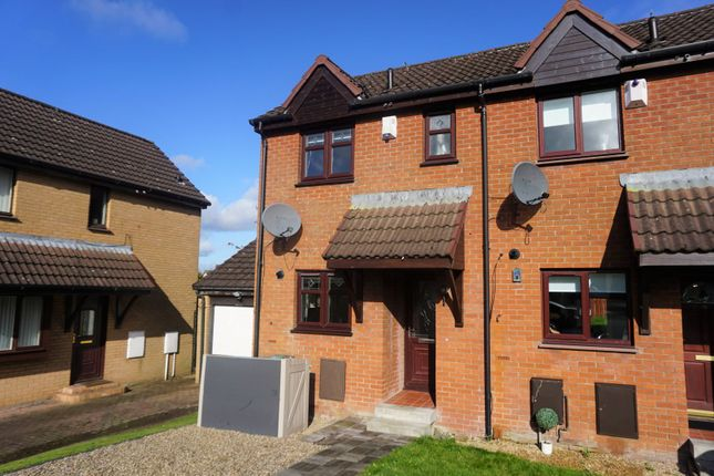 Thumbnail End terrace house for sale in Dempsey Road, Bellshill