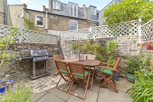 Garden of Parkville Road, London SW6