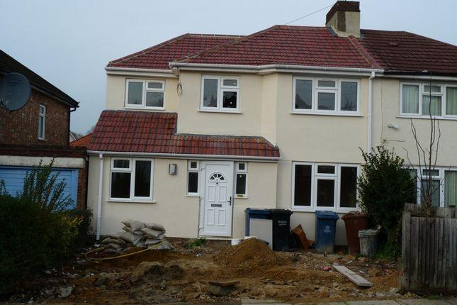 Thumbnail Semi-detached house to rent in Sefton Avenue, Harrow Weald