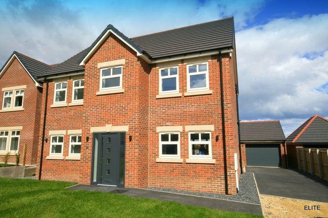Thumbnail Detached house for sale in Stonelea Court, Easington, Peterlee
