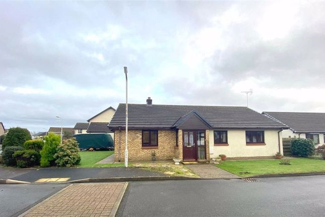 Thumbnail Detached bungalow for sale in Heritage Park, Haverfordwest