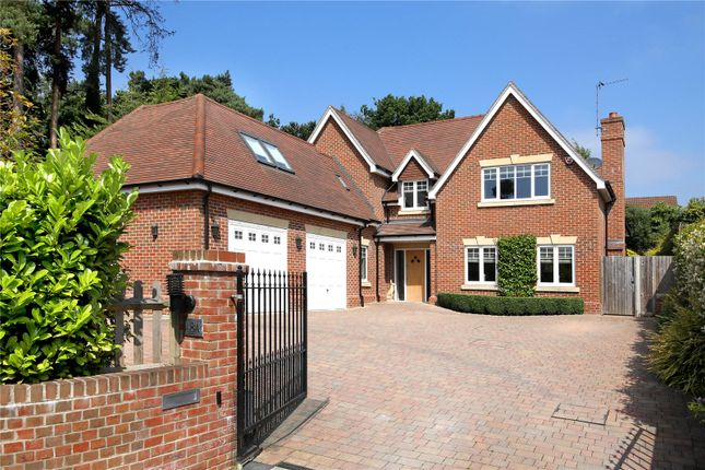 Thumbnail Detached house for sale in Ambleside Road, Lightwater, Surrey