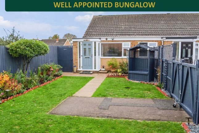 Thumbnail Bungalow for sale in Georgeham Close, Wigston, Leicester