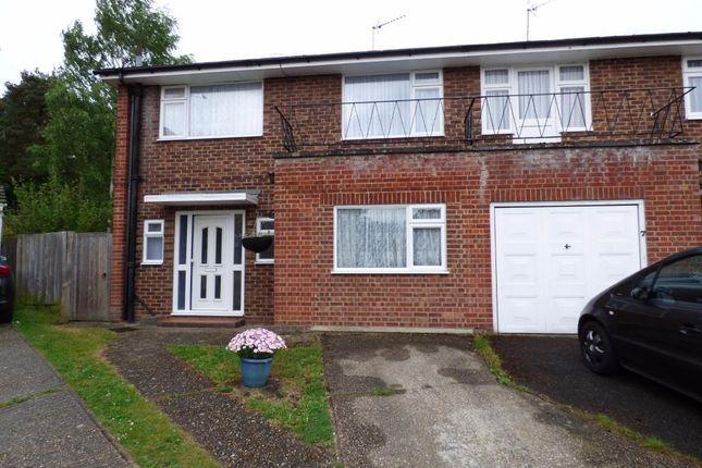 Thumbnail End terrace house for sale in Doreen Close, Farnborough