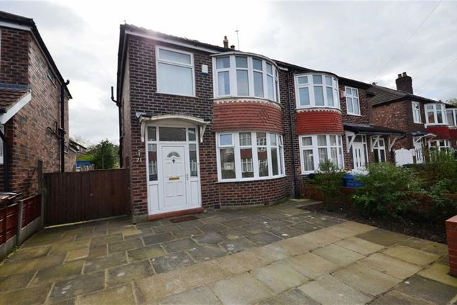 Thumbnail Semi-detached house to rent in Brassington Road, Heaton Mersey, Stockport, Cheshire