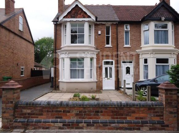 Thumbnail Shared accommodation to rent in Park Road West, Wolverhampton