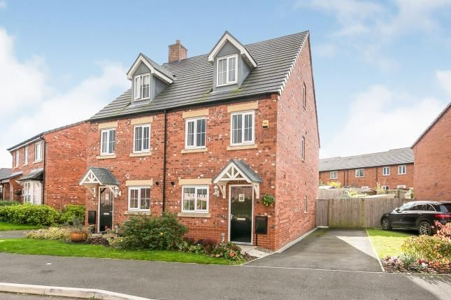 3 bed semi-detached house for sale in Fairfax Avenue, Tarvin, Chester, Cheshire CH3