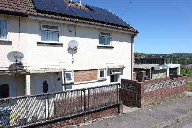 Thumbnail Semi-detached house for sale in Heol Bryn Selu, Swansea Road, Merthyr Tydfil