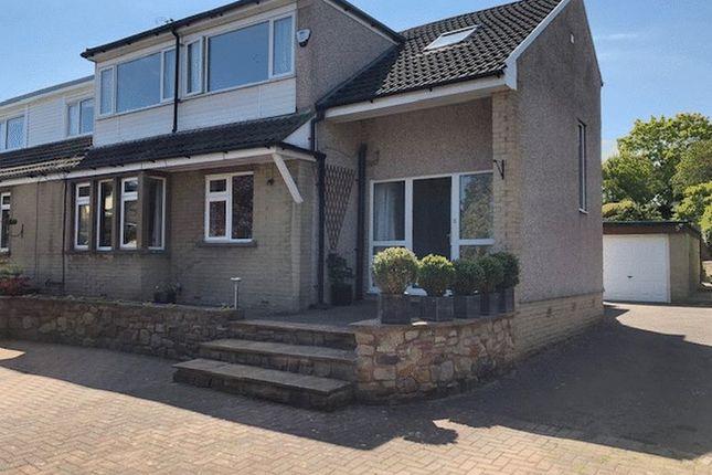 Thumbnail Semi-detached bungalow for sale in Bridge Croft, Bolton Le Sands, Carnforth