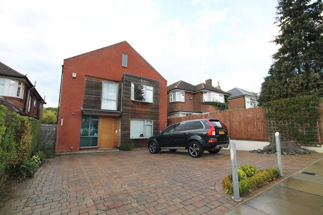 Thumbnail Detached house for sale in Edgwarebury Lane, Edgware, Middlesex.