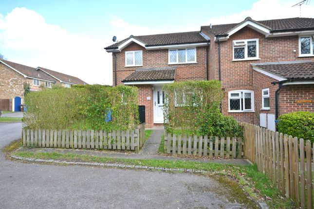 Thumbnail End terrace house to rent in Upshire Gardens, The Warren, Bracknell