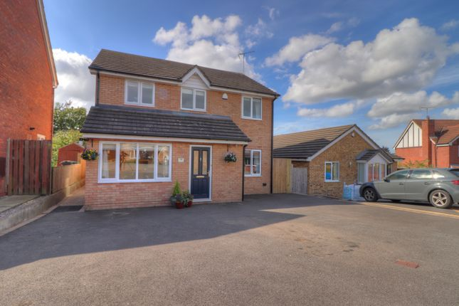 Thumbnail Detached house for sale in Sorrel Close, Huntington, Chester