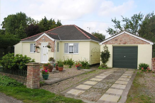 Thumbnail Detached bungalow for sale in Croeshowell Lane, Burton, Near Rossett